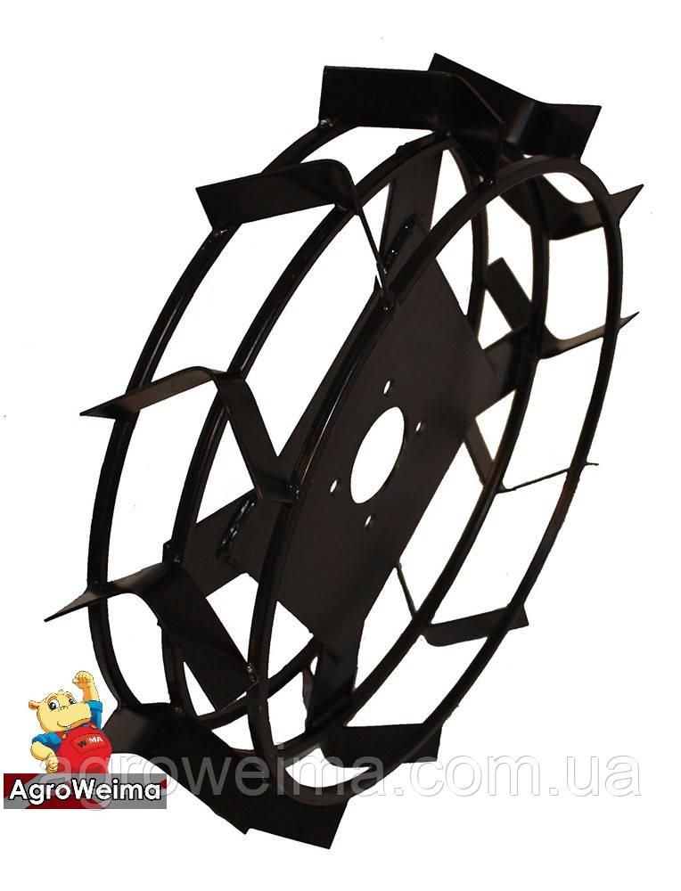 Колеса з грунтозачепами Ø560 × 130 (Zirka-105, «Зубр») (без втулки)