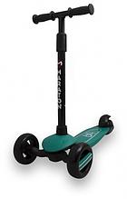 Самокат Maraton Baby Star (Зелений) зі складним кермом і педаллю заднім гальмом