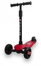 Самокат Maraton Baby Star (Червоний) зі складним кермом і педаллю заднім гальмом