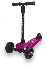 Самокат Maraton Baby Star (Рожевий) зі складним кермом і педаллю заднім гальмом