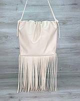 Женская сумка «Пипер» бежевая, фото 1