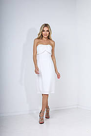 "Платье женское белое ""Upgrade"""