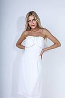 """Платье женское белое """"Upgrade"""", фото 5"""