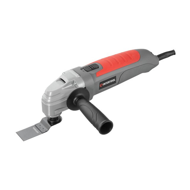 Мульті інструмент реноватор 300 Вт, 15000-22000 об/хв, аксесуари, кейс INTERTOOL DT-0523