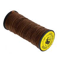 Нитка взуттєва капронова 0,8 мм коричнева 280 Текс 10шт/упаковка
