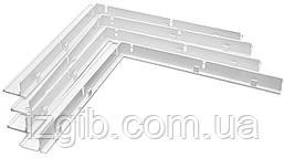 Куточок для складовою решітки, ABS 4 шт. (У15ДП)