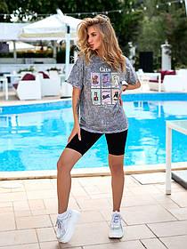 Турецкие котоновые женские футболки с принтом, Турецкая футболка женская дисней,  Женская футболка Турция
