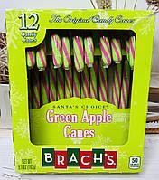 Конфеты тросточки Candy Canes зеленое яблоко, фото 1