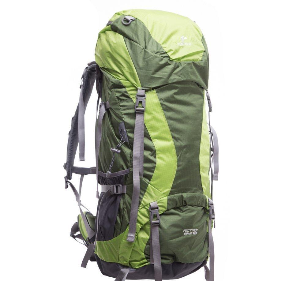 Рюкзак туристический Tofine Super Light 65+10 л (зеленый)