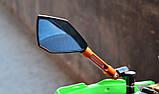 Зеркала для мотоцикла Rizoma Синие, фото 2