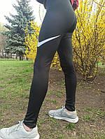 Женские спортивные лосины Nike черные