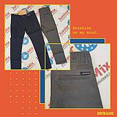Котоновые подростковые брюки для мальчиков оптом H&H 134--164cм