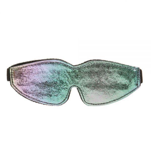 Маска на глаза хамелеон с подкладкой Chameleon Love Mask