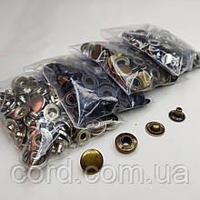 Кнопка Альфа для одежды 12.5 мм. Кнопка № 54. Набор (4 цвета по 25 шт.)
