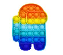 Игрушка-антистресс SUNROZ Push Bubble Pop It пузырьки для снятия стресса Стиль 3 (SUN8719)