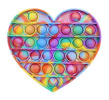 Іграшка-антистрес SUNROZ Push Bubble Pop It бульбашки для зняття стресу Стиль 5 (SUN8721)
