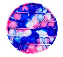 Игрушка-антистресс SUNROZ Push Bubble Pop It пузырьки для снятия стресса Стиль 10 (SUN8726)