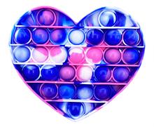 Игрушка-антистресс SUNROZ Push Bubble Pop It пузырьки для снятия стресса Стиль 13 (SUN8729)