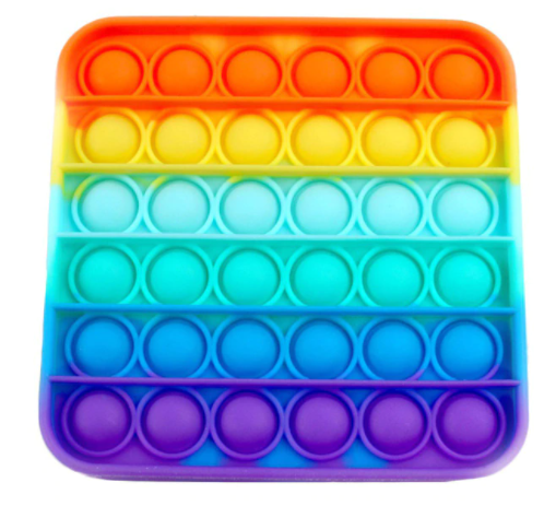 Игрушка-антистресс SUNROZ Push Bubble Pop It пузырьки для снятия стресса Стиль 20 (SUN8736)