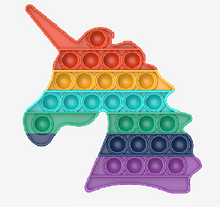 Игрушка-антистресс SUNROZ Push Bubble Pop It пузырьки для снятия стресса Стиль 22 (SUN8738)