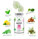 Органічні мультивітаміни Biocyte Multivit Bio 30 таблеток, фото 3