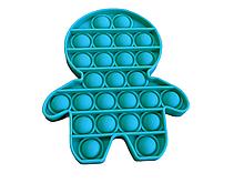Антистрес PopAr сенсорна іграшка Бірюзовий чоловічок