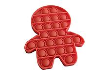 Іграшка-антистрес PopAr Помаранчевий чоловічок