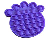 Антистресс PopAr сенсорная игрушка Фиолетовый ананас