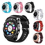 Сенсорные Smart Watch V8 смарт часы умные часы ЧЕРНЫЕ, фото 10