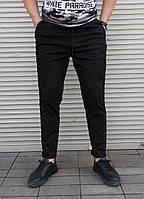 Чёрные мужские брюки S,M,L,XL