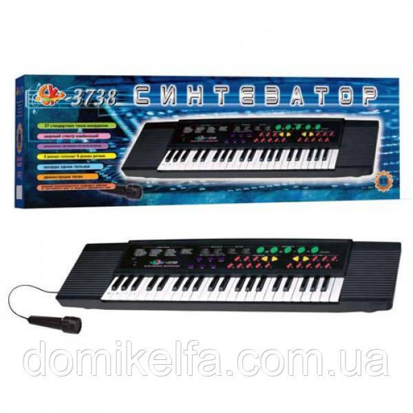 Синтезатор с микрофоном Metr+ 3738