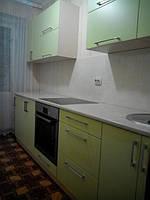 Кухня прямая краска