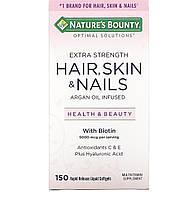 Nature's Bounty, Волосся, шкіра і нігті, 150 капсул, фото 1