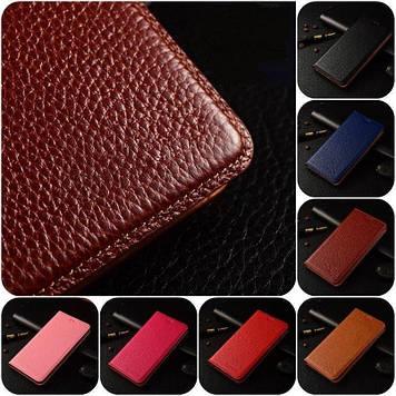 """Чехол книжка из натуральной воловьей кожи противоударный магнитный для Sony Xperia Z3 Plus DS E6533 """"BULL"""""""