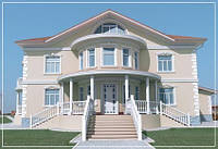 Декоративная отделка фасадов, художественная роспись потолков