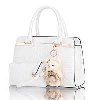 972402f1ab16 Женская стильная лаковая сумка+кошелек. Модель 05262 - купить ...