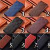 """Чохол книжка з натуральної шкіри протиударний магнітний для Sony Xperia XA1 Plus G3412 """"JACOSA"""", фото 4"""