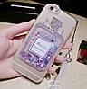 """Силіконовий чохол зі стразами рідкий протиударний TPU для Sony Xperia Z3 mini Compact """"MISS DIOR"""", фото 3"""