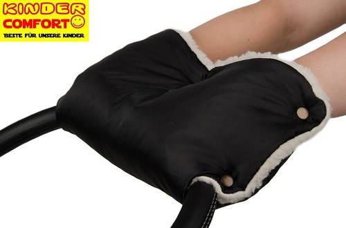Муфта для коляски и санок (Черный), Kinder Comfort