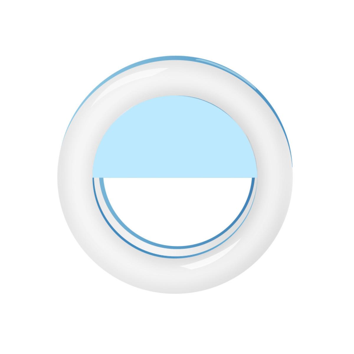 Селфи-вспышка кольцо RGB RG-01 (Голубой)
