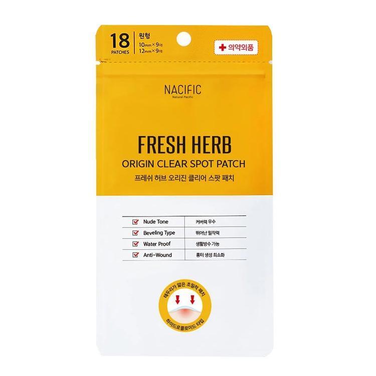 Nacific Fresh Herb Origin Clear Spot Patch Патчі від запалень
