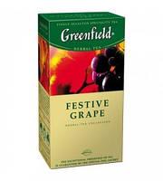 Чай в пакетиках травяной Greenfield Festive Grape 25 п.