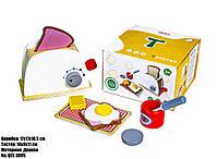 """Детская деревянная игрушка """"Кофе-машина"""" QCL3006"""