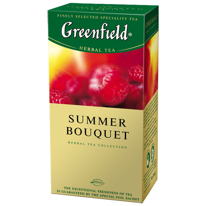 Чай в пакетиках травяной Greenfield Summer Bouquet 25 п.