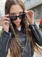Ланцюжок для окулярів BLESTKA Verona Green/Gold, фото 1