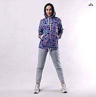 Кофта женская спортивная с капюшоном и карманами Disney р. 42-52