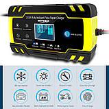 Автоматичне SMART зарядний пристрій авто акумулятора 24V 4A / 12V 8A з функцією відновлення АКБ, фото 2