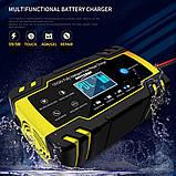 Автоматичне SMART зарядний пристрій авто акумулятора 24V 4A / 12V 8A з функцією відновлення АКБ, фото 3