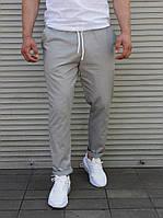 Стильные летние мужские брюки светло-серые  S,M,L,XL