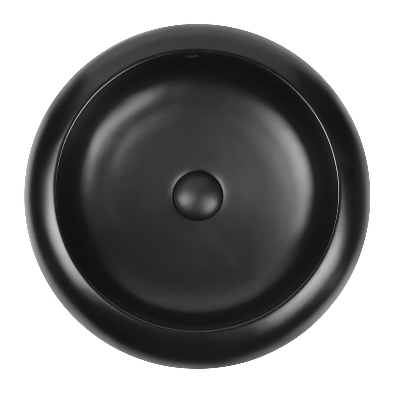 Раковина-чаша Qtap Robin з донним клапаном QT13113062MB